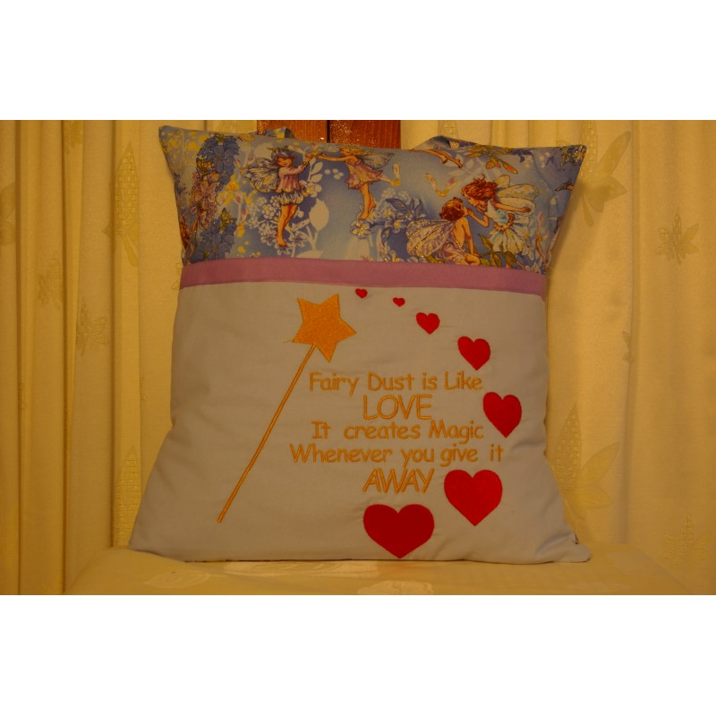 "Reading Cushion ""Fairy Dust"""